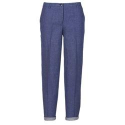 Textil Mulher Calças Armani jeans JAFLORE Azul
