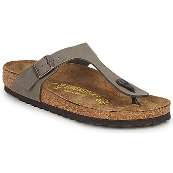 Sapatos Mulher Chinelos Birkenstock GIZEH Pedra