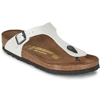 Sapatos Mulher Chinelos Birkenstock GIZEH Branco / Nacre