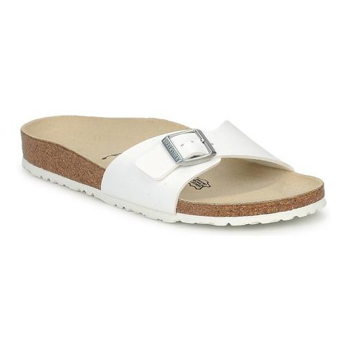 Sapatos Mulher Chinelos Birkenstock MADRID Branco