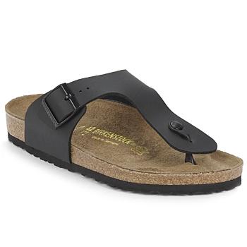 Sapatos Homem Chinelos Birkenstock RAMSES Preto