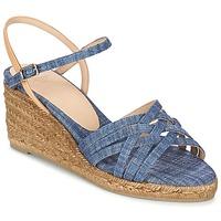 Sapatos Mulher Sandálias Castaner BETSY Azul / Bege