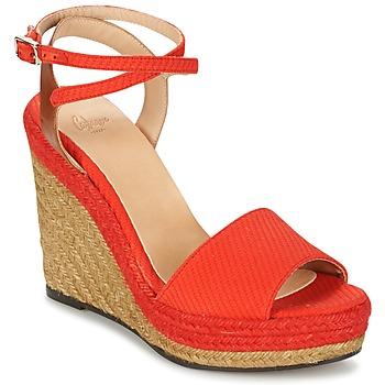 Sapatos Mulher Sandálias Castaner ADELA Vermelho