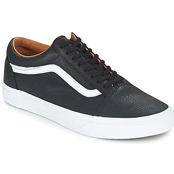 Sapatos Homem Sapatilhas Vans OLD SKOOL Preto / Branco