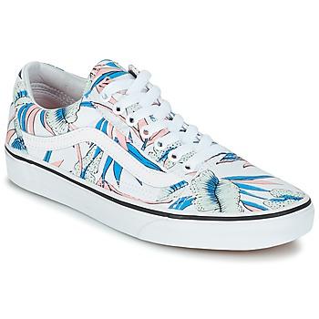 Sapatos Mulher Sapatilhas Vans OLD SKOOL Branco / Azul