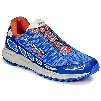 Sapatos Homem Sapatilhas de corrida Columbia BAJADA™ III Azul / Laranja