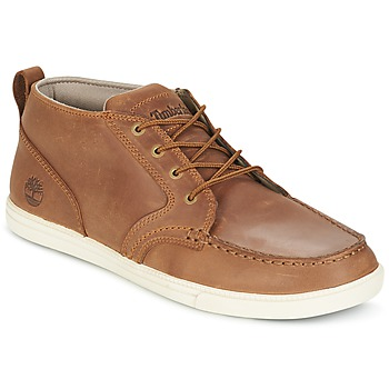 Sapatos Homem Sapatilhas Timberland FULK LP CHUKKA MT LEATHER Castanho