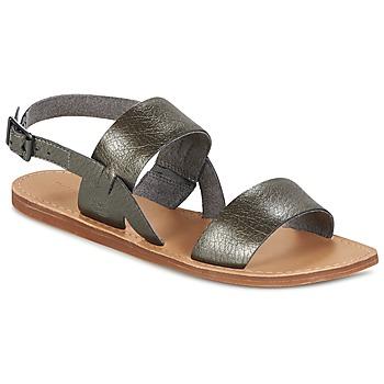 Sapatos Mulher Sandálias Timberland CAROLISTA SLINGBACK Cinza