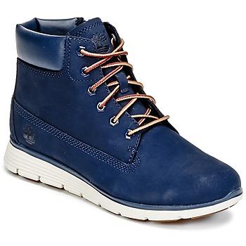 Sapatos Rapaz Botas baixas Timberland KILLINGTON 6 IN Azul
