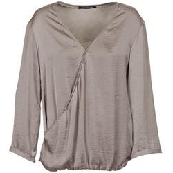 Textil Mulher Tops / Blusas Fornarina CORALIE Toupeira