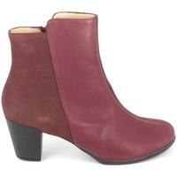 Sapatos Mulher Botins TBS Katelyn Bordeaux Vermelho