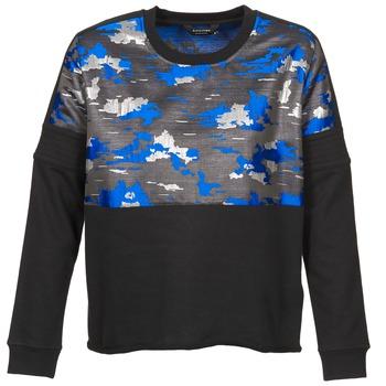 Textil Mulher Sweats Eleven Paris FORTEX Preto / Azul