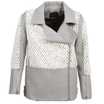 Textil Mulher Casacos Eleven Paris FLEITZ Cinza / Bege