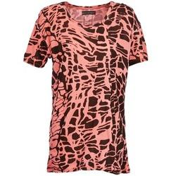 Textil Mulher T-Shirt mangas curtas Religion HAWK Vermelho / Preto
