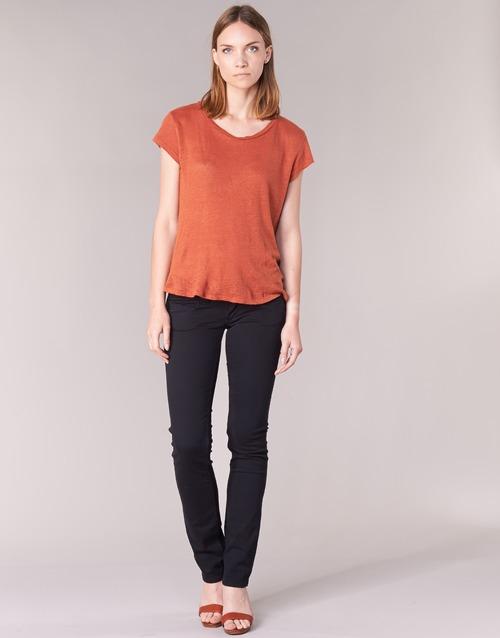 Textil Mulher Calças Pepe jeans VENUS Preto