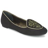 Sapatos Mulher Sabrinas Etro 3059 Preto / Cáqui