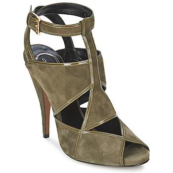 Sapatos Mulher Sandálias Etro 3025 Cáqui