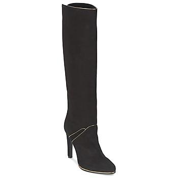 Sapatos Mulher Botas Etro 3119 Preto / Dourado