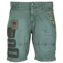 Textil Homem Shorts / Bermudas Napapijri NARWEE Cáqui