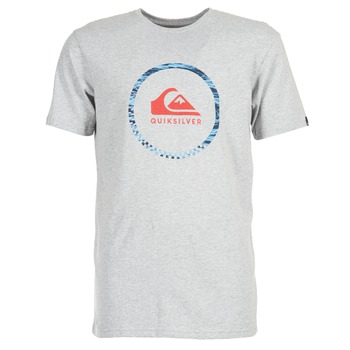 Textil Homem T-Shirt mangas curtas Quiksilver ACTIVELOGO 3 Cinza