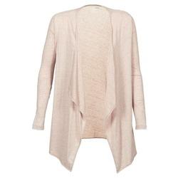 Textil Mulher Casacos de malha Majestic 518 Bege