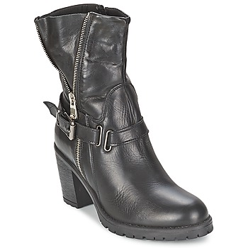 Sapatos Mulher Botins Casual Attitude FANYE Preto