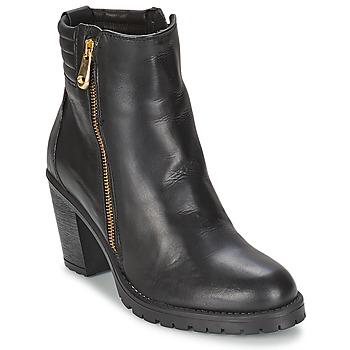 Sapatos Mulher Botins Casual Attitude ELE Preto