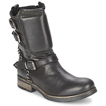 Sapatos Mulher Botas baixas Casual Attitude SERIS Preto