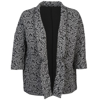 Textil Mulher Casacos/Blazers Sisley FRANDA Preto / Cinza