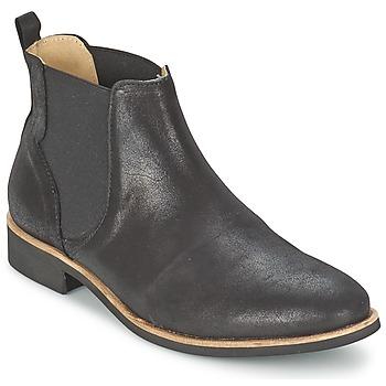 Sapatos Mulher Botas baixas Petite Mendigote LONDRES Preto