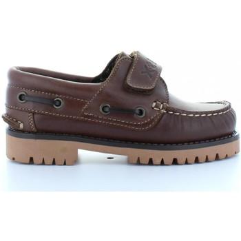 Sapatos Criança Sapato de vela Xti 53455 NAPA CUERO Marrón