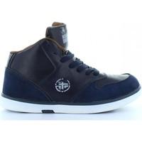 Sapatos Criança Sapatilhas de cano-alto No Nukes B169750-B4920 Azul