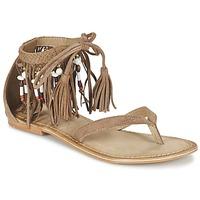 Sapatos Mulher Sandálias Vero Moda VMKAYA LEATHER SANDAL Conhaque
