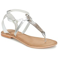 Sapatos Mulher Sandálias Vero Moda VMANNELI LEATHER SANDAL Prata