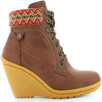 Sapatos Mulher Botins Refresh 61500 Marrón