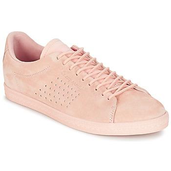 Sapatos Mulher Sapatilhas Le Coq Sportif CHARLINE NUBUCK Rosa