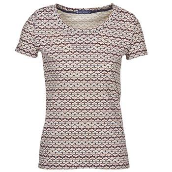 Textil Mulher T-Shirt mangas curtas Petit Bateau 10620 Multicolor