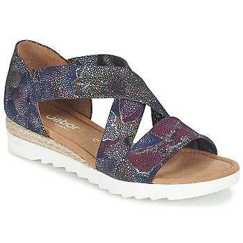 Sapatos Mulher Sandálias Gabor WOLETTE Azul / Violeta
