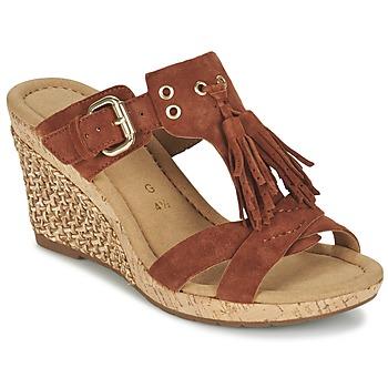 Sapatos Mulher Sandálias Gabor MULETTE Castanho