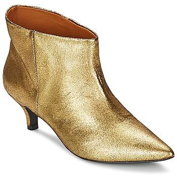 Sapatos Mulher Botas baixas RAS ESPE Ouro