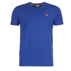 Textil Homem T-Shirt mangas curtas U.S Polo Assn. DBL HORSE Azul