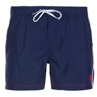 Textil Homem Fatos e shorts de banho U.S Polo Assn. AXEL SWIM TRUNK MED Marinho