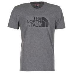 Textil Homem T-Shirt mangas curtas The North Face EASY TEE Cinza