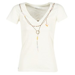 Textil Mulher T-Shirt mangas curtas Oxbow TWIN Branco