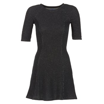 Textil Mulher Vestidos curtos Loreak Mendian ZENIT Preto