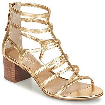 Sapatos Mulher Sandálias Ralph Lauren MADGE SANDALS DRESS Ouro