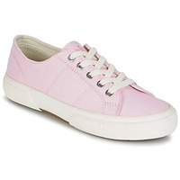 Sapatos Mulher Sapatilhas Ralph Lauren JOLIE SNEAKERS VULC Rosa