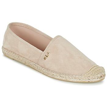 Sapatos Mulher Alpargatas Ralph Lauren DANITA ESPADRILLES CASUAL Rosa