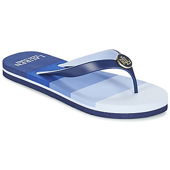 Sapatos Mulher Chinelos Ralph Lauren ELISSA III SANDALS CASUAL Azul