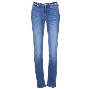 Textil Mulher Calças de ganga slim Lee ELLY Azul